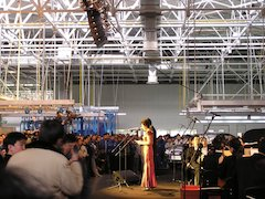 Adamson's Spektrix And The Chinese Philharmonic Orchestra At The Audi-VW Factory In China