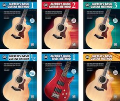 Alfred's Basic Guitar Library: New And Improved 3rd Edition Now Available!