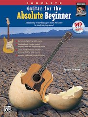 New From Alfred And The National Guitar Workshop - Guitar For The Absolute Beginner: Complete