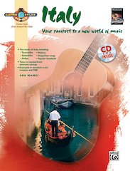 Take A Musical Journey As Alfred And The National Guitar Workshop Present Guitar Atlas: Italy