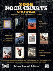 Let Alfred Rock Your Year With Rock Charts Guitar 2008: Deluxe Annual Edition