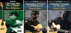 Alfred and Solid Air Records Introduce Three New DVD Titles in the Acoustic Masterclass Series
