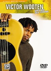 New From Alfred: Victor Wooten's Super Bass Solo Technique (DVD)