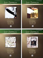 Alfred Adds 4 New Titles To Best-Selling Classic Album Editions Series Led Zeppelin I-IV (Authentic Bass Tab)