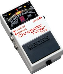Boss Releases TU-3 Chromatic Tuner