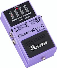 BOSS Announces DC-2W Dimension C and MT-2W Metal Zone Pedals