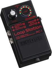 BOSS Announces Special-edition RC-1-BK Loop Station