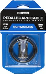 BOSS Offers Premium Solderless Pedalboard Cable Kits