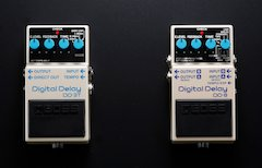 BOSS Announces DD-3T and DD-8 Digital Delay Pedals