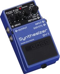 Boss Unveils SY-1 Synthesizer Pedal