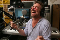 Pianist/Singer/Songwriter Jon Cleary Records With Trion Mics