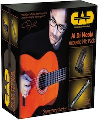 CAD Professional Microphones Introduces Signature Mic Packs For Guitarists [ Summer NAMM 2007 ]