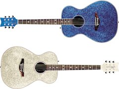 New Sparkle Finishes Added To Daisy Rock's Pixie Acoustic Guitar Series! [ Summer NAMM 2007 ]