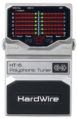 Hardwire® By DigiTech Expands Lineup With HT-6 Polyphonic Tuner
