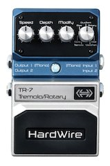 HardWire® Adds To Lineup With New TR-7 Tremolo/Rotary Extreme Performance Pedal