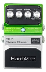 Hardwire® Introduces the SP-7 Stereo Phaser Effects Pedal for Guitarists