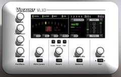 Digitech® Introduces New Vocalist VL3D Desktop Harmony Processor