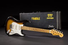 "Fender® Custom Shop Introduces Eric Clapton ""Brownie"" Tribute Stratocaster® Guitar"