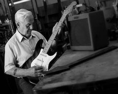 Early Pioneer Of Electric Guitar, George Fullerton, Comes Home To Fender® For The Release Of The 50th Anniversary Limited Edition 1957 Stratocaster® Guitar And Amp Set
