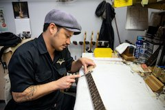 Fender Custom Shop Promotes Carlos Lopez to Master Builder As Product Demand Continues to Grow