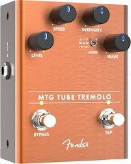 Fender® Adds Tube Tremolo To Effect Pedal Line Designed To Enhance Players Tone