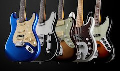 Fender® Spotlights Recently-Launched American Ultra Electric Guitar Series, Revives Models From The Past And Brings Back Parallel Universe At Winter NAMM