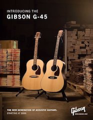 Gibson G-45 Series Collection, A New Generation Of Gibson Acoustic Guitars And A New Entry Point For A Gibson Acoustic
