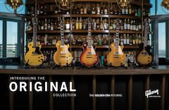 Gibson Announces New Original, Modern and Custom Shop Collections