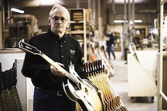 "Gibson Guitar's James ""Hutch"" Hutchins Leaves Behind A Legacy All His Own"