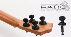 Ratio Tune-a-lele, World's Lightest Machine Head, Made Just for Ukuleles Debuts