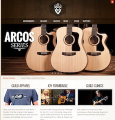 Guild® Guitars Re-launches Official Website