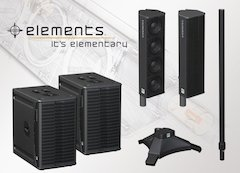 HK Audio Debuts Elements Line Of Modular Sound Reinforcment In The U.S.