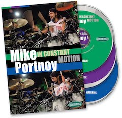 "Mike Portnoy Stays ""In Constant Motion"" With Triple-DVD From Hudson Music"