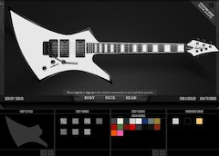 Jackson® Guitars Launches Online Custom Guitar Builder