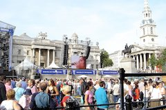 Adlib Audio Electrifies London's Trafalgar Square With JBL Professional VERTEC® Sound System