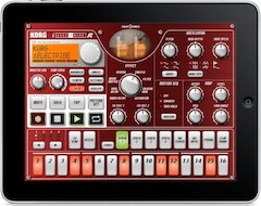 Korg Exhibits Its Popular iELECTRIBE App For iPAD®