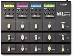 Line 6 M13 Stompbox Modeler Available Worldwide