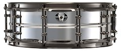 Ludwig's New Black Magic Stainless Drums
