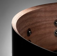 Mapex Releases New Black Panther Premium Walnut Snare Drum [ Musikmesse 2007 ]