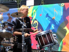 Gregg Bissonette Introduces Mapex Marching Snare At DCI Championships