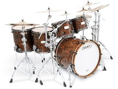 Mapex Unveils 2008 Limited Edition Orion Chocolate Burl [ Winter NAMM 2008 ]