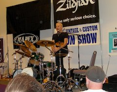 Hollywood Vintage Drum Show Features Clinic By Mapex Artist Gregg Bissonette