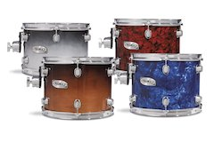 Mapex Adds New Finishes, Improvements To Pro M Series [ Winter NAMM 2007 ]