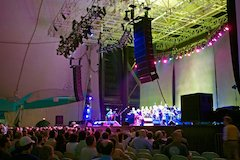 Steely Dan Tours With Thunder Audio And Meyer Sound Milo And MJF-212A