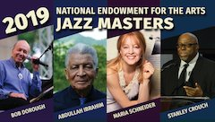 National Endowment for the Arts Announces Newest Recipients of Nation's Highest Honor in Jazz