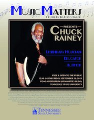 Music Legend Chuck Rainey to Lecture, Perform at Tennessee State University