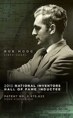 USPTO Includes Bob Moog in 2013 National Inventors Hall of Fame Inductees Announcement
