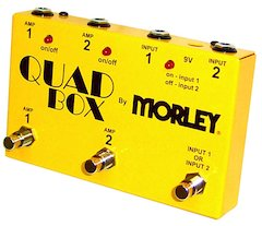 Quad Box By Morley® Allows Easy Control Over Two Guitars And Two Amplifiers [ Winter NAMM 2007 ]