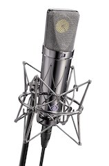 The U 87 Rhodium Edition: Neumann Celebrates 50 Years of the Legendary Microphone With the Ultimate Limited Edition