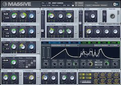 Native Instruments MASSIVE software synthesizer demo version and update now available!